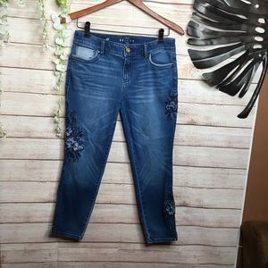White House Black Market The skinny crop jeans 6P